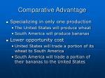comparative advantage15