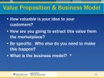 value proposition business model