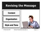 revising the message