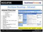 acclipse desktop intranet