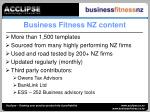 business fitness nz content