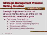 strategic management process setting direction14