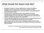 what should the future look like6