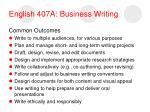 english 407a business writing13