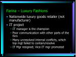 farina luxury fashions