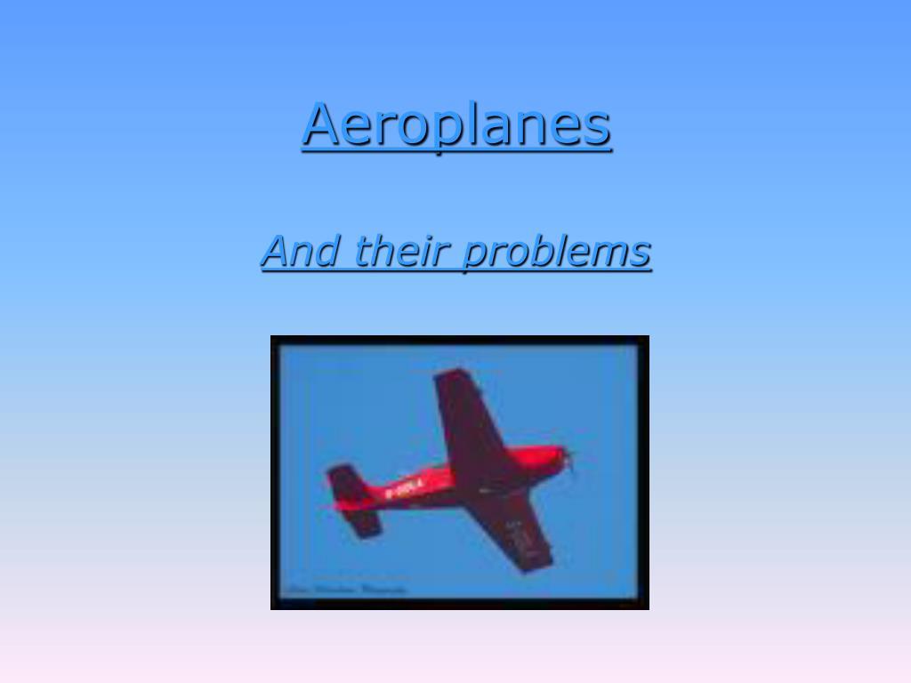 aeroplanes l.