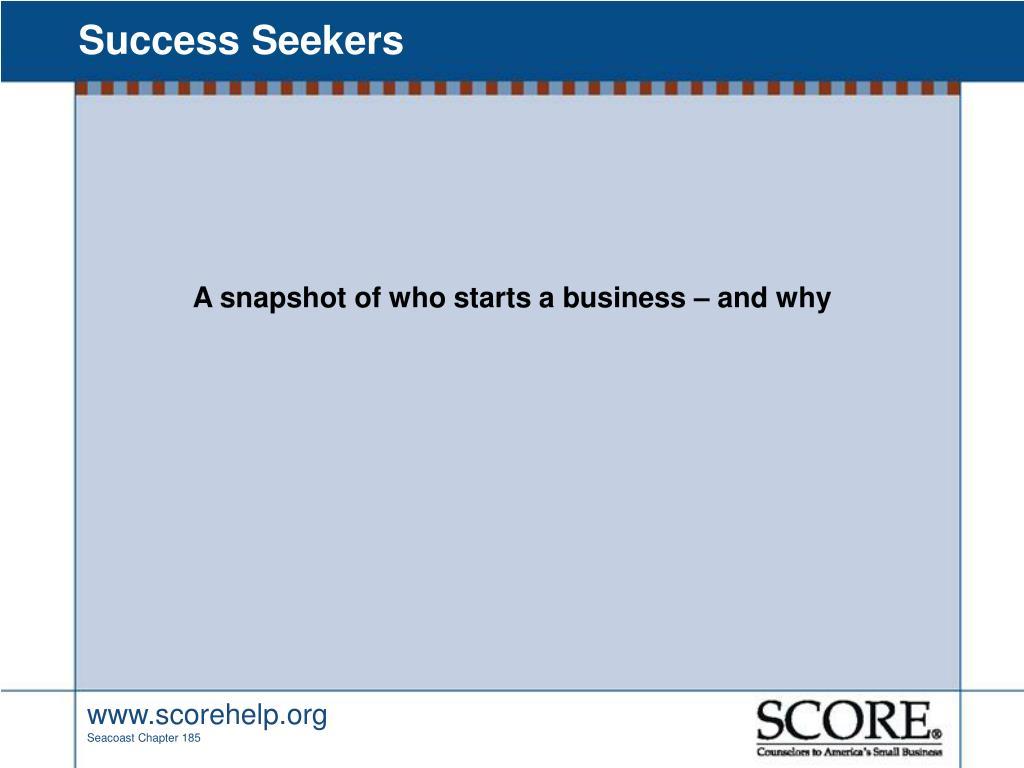 Success Seekers