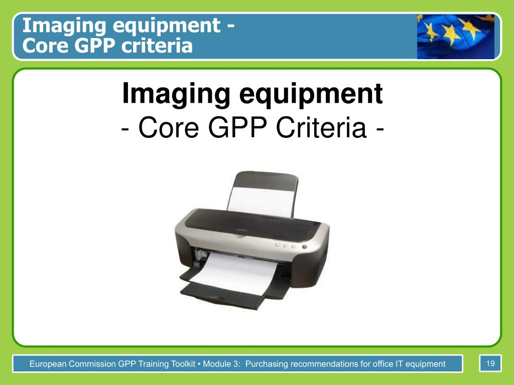 Imaging equipment -