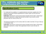 pcs notebooks and monitors comprehensive gpp criteria14