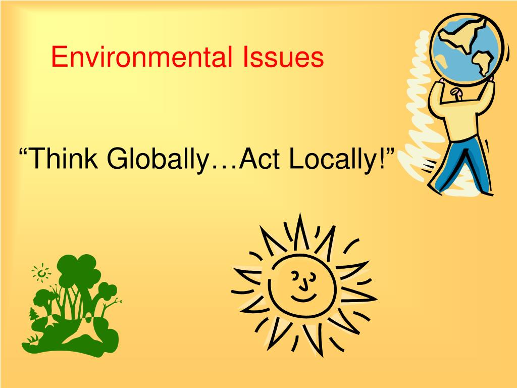 environmental issues l.