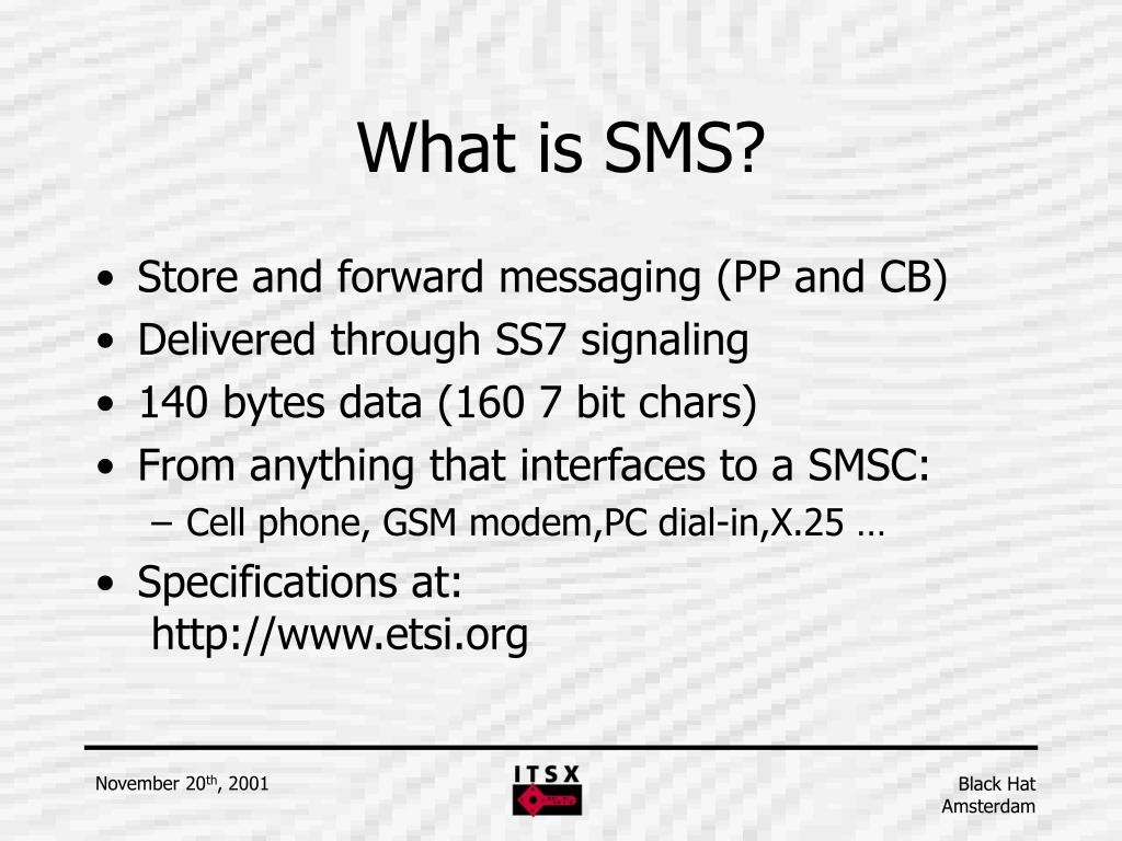 PPT - Mobile security: SMS and WAP PowerPoint Presentation