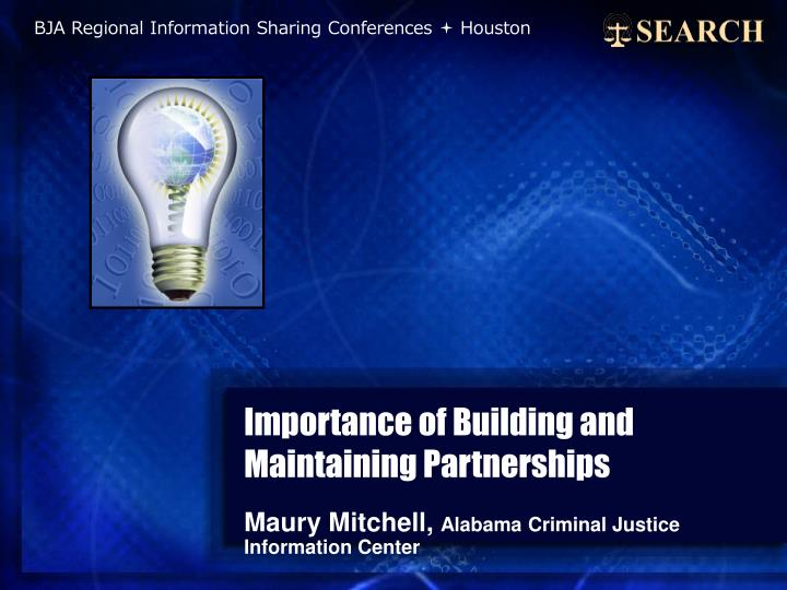 importance of building and maintaining partnerships n.