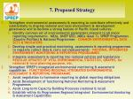 7 proposed strategy