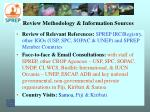 review methodology information sources