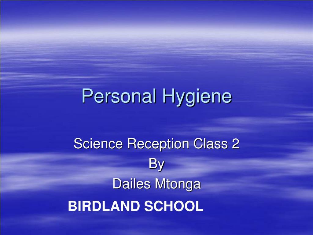 personal hygiene l.