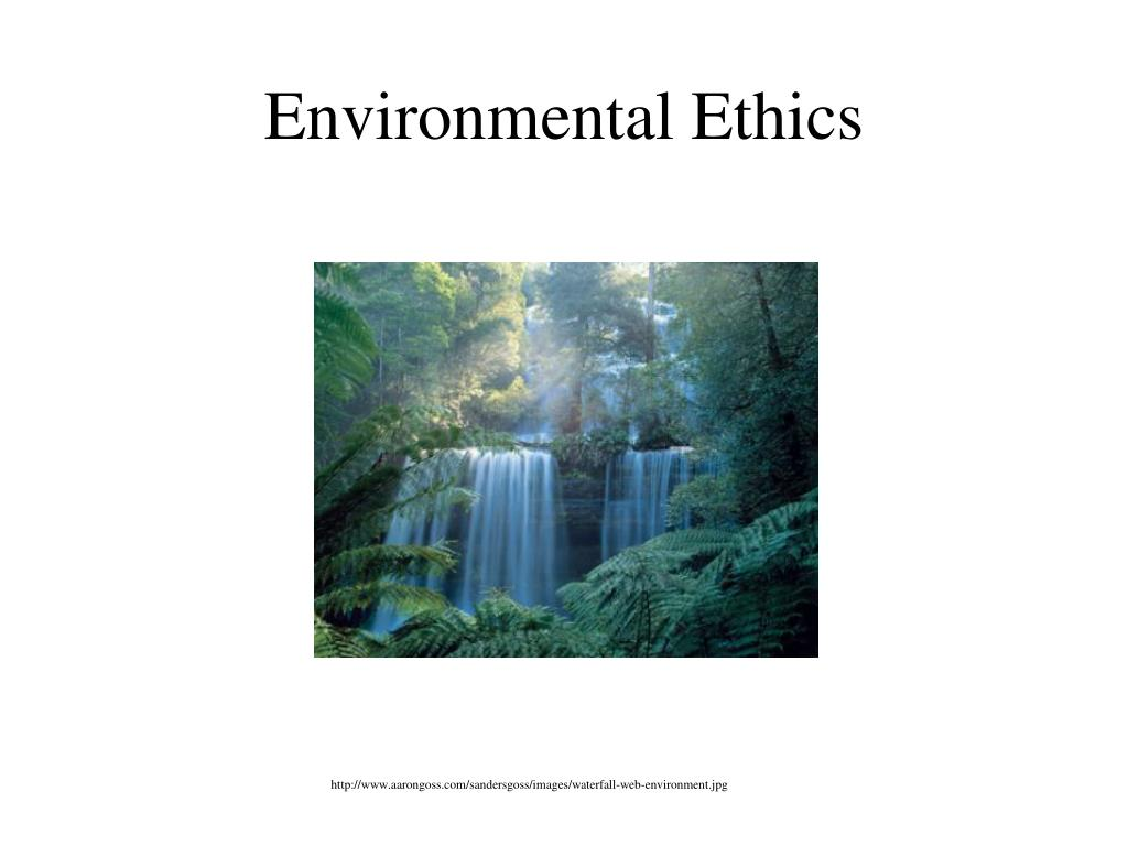 environmental ethics l.