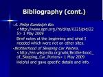 bibliography cont19