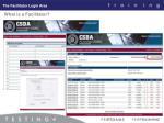 the facilitator login area16