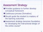 assessment strategy11