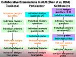 collaborative examinations in aln shen et al 2004
