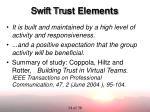 swift tru st elements