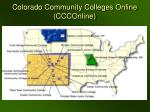 colorado community colleges online ccconline
