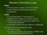 kitchen chemistry labs