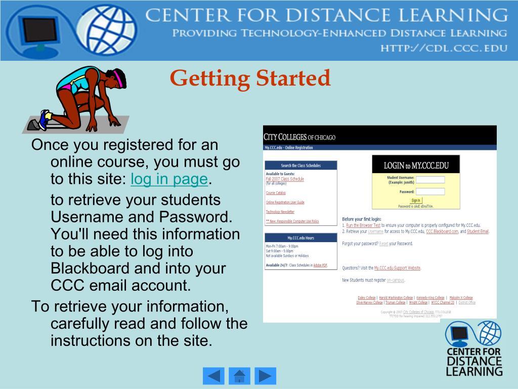 Ppt Cdl Student Orientation Powerpoint Presentation Id50983
