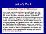writer s craft