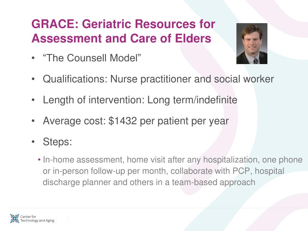 GRACE: Geriatric Resources for