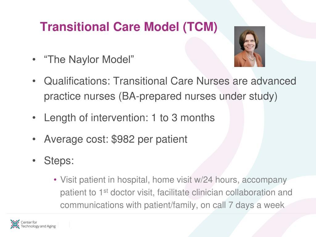 Transitional Care Model (TCM)