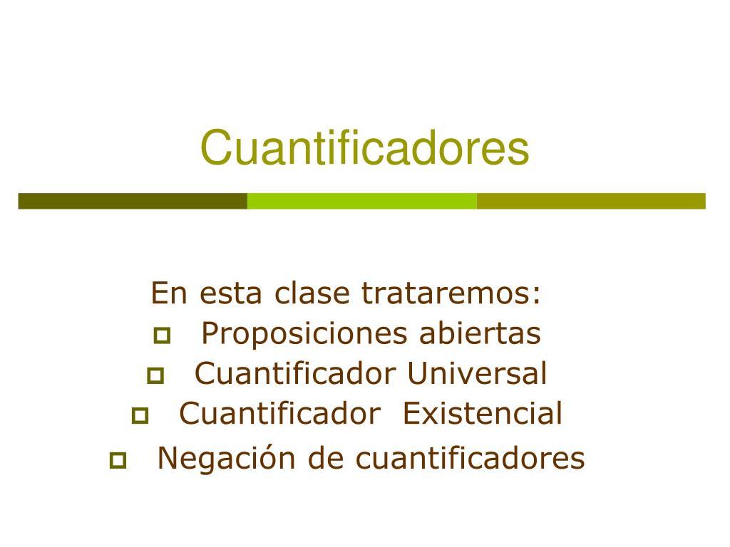 cuantificadores l.