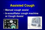 assisted cough
