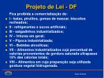 projeto de lei df