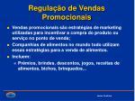 regula o de vendas promocionais
