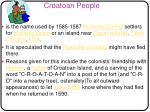 croatoan people