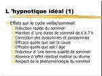 l hypnotique id al 1