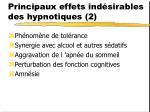 principaux effets ind sirables des hypnotiques 2