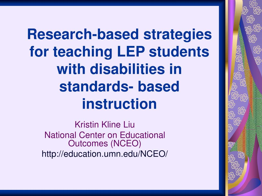 teaching strategies for students with disabilities essay Teaching students with learning disabilities special education: teaching students with learning disabilities strategies for teaching students self-advocacy.