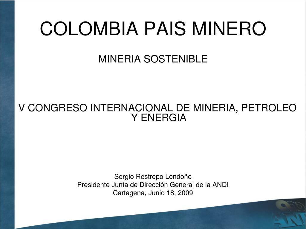 colombia pais minero l.