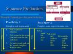 sentence production5