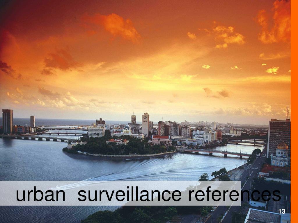 urban  surveillance references