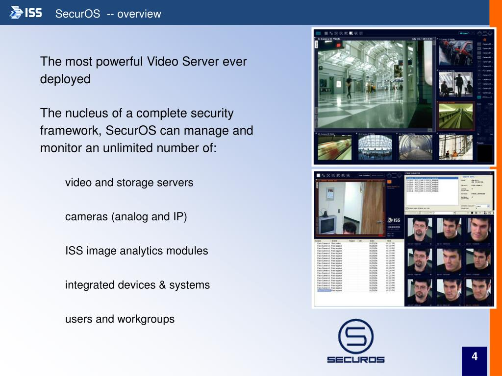 SecurOS  -- overview