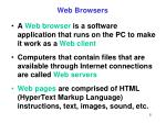 web browsers5