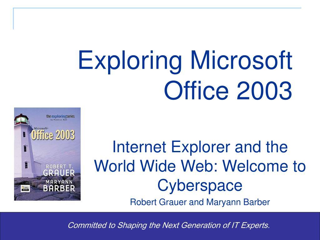 exploring microsoft office 2003 l.