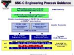 ssc c engineering process guidance