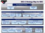 ssc c strategy map for bsc