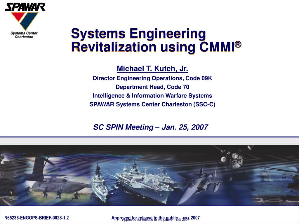 systems engineering revitalization using cmmi l.