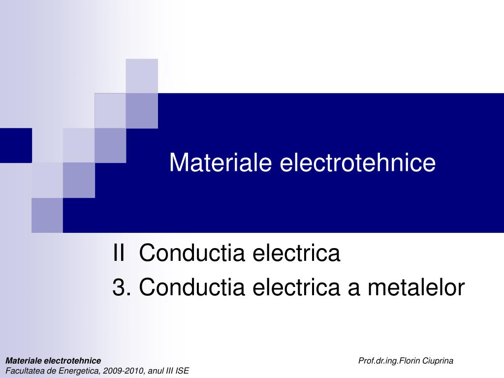materiale electrotehnice l.
