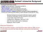 rockwell automation background